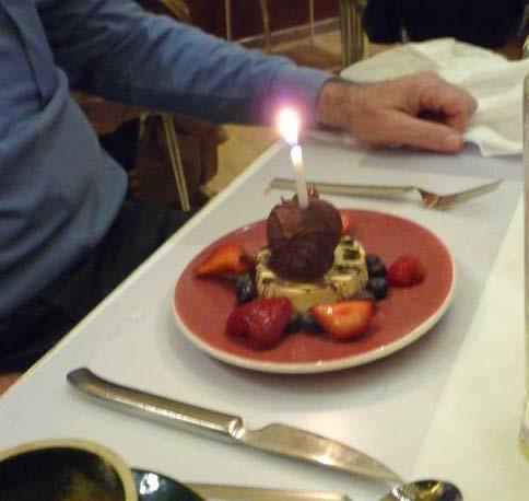 Lee's birthday cake