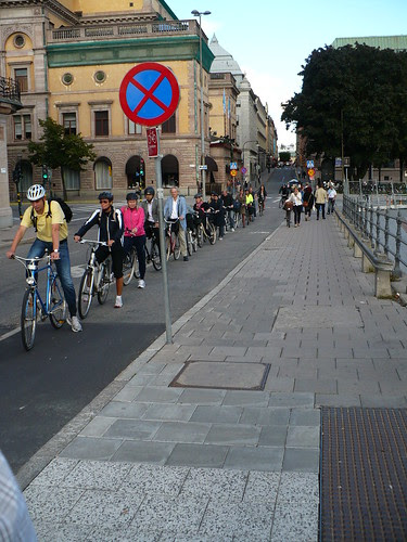 Rush Hour in Stockholm