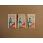 USPS Scott 2470-74 25c Lighthouse 3 Books 1990 60 Stamps Mint Booklet -- New