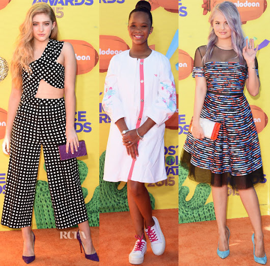 2015 Nickelodeon Kids' Choice Awards Red Carpet Roundup - Red Carpet Fashion Awards