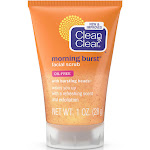 Clean & Clear Facial Scrub, Morning Burst - 1 oz