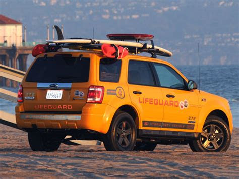 ford escape hybrids patrol californian beaches latest