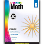 Math - Spectrum - K - activity book (paperback)