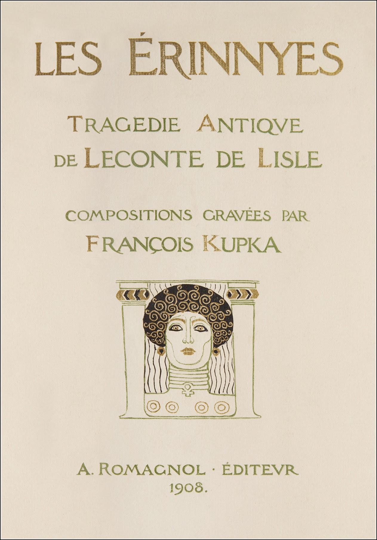 František Kupka, Leconte de Lisle, Les Erinnyes