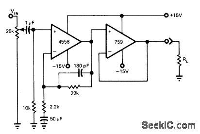 pre amp wiring diagrams with Low Pass Filter Using 4558 Circuit Today on Electret Microphone in addition Lf353n Wiring Diagram moreover Car Audio Crossover Wiring Diagram as well Induction Cooker Circuit Diagram further Sennheiser Mic Wire Diagram.