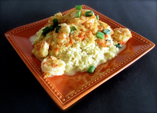 "» Guest Post by Tara Perillo – Cajun Shrimp Etoufee Over ""Cheezy"" Grits (Autoimmune Protocol-Friendly)"