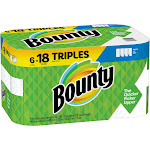 Bounty Paper Towels, White - 6 rolls