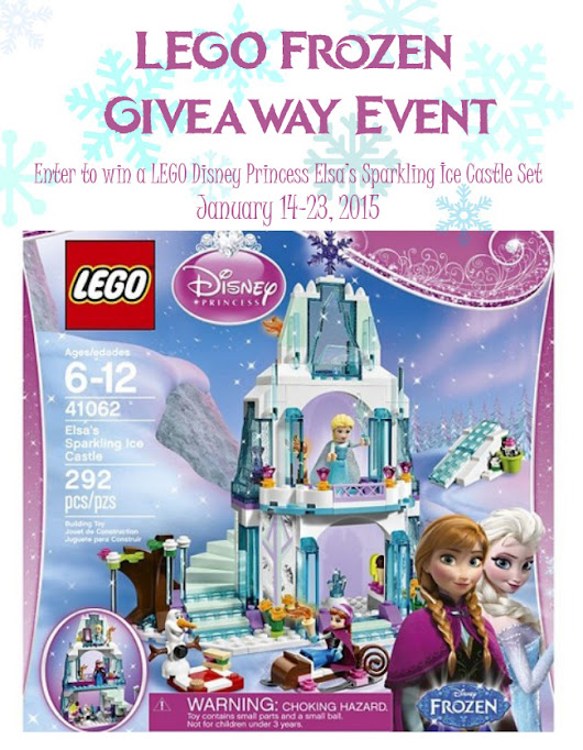 LEGO Frozen Ice Castle Giveaway - My Insanity