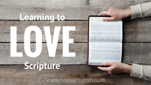 Learning to Love Scripture