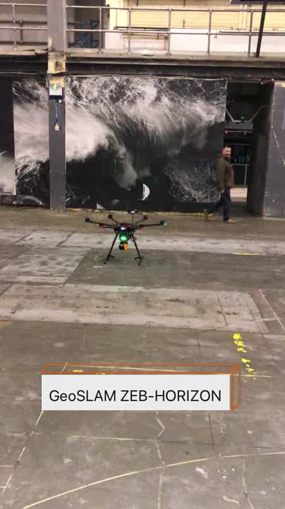 "Phil Marsh na LinkedIn: ""Highlight of last week was when we put the new GeoSLAM Ltd #ZEBHORIZON on a #UAV and went #LaserScanning"""