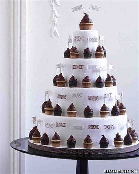 Wedding Cupcake Ideas   Martha Stewart Weddings