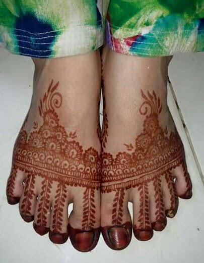 Floral Style Foot & Leg Mehndi Designs   Fashion Beauty