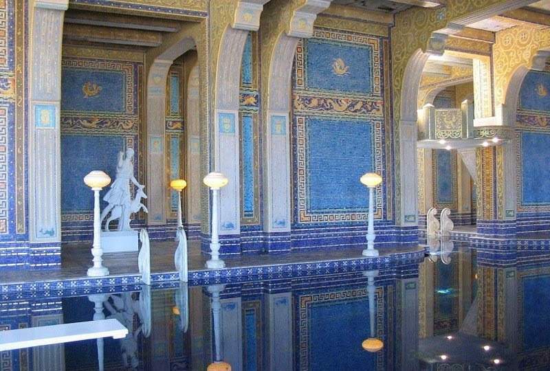 Stunning Pool at Hearst Castle