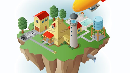 Drawing Vector Graphics: Isometric Illustration: Welcome