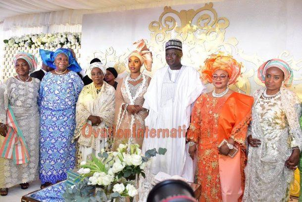 couple with Richest Woman In Africa, Folorunsho Alakija, Justice Fati Abubakar