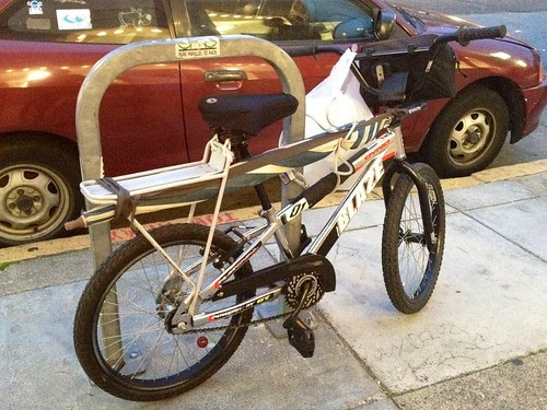 Umbrella bike hack!!
