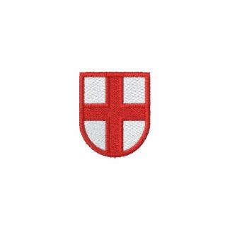 England Embroidered Long Sleeve Shirt zazzle_embroideredshirt