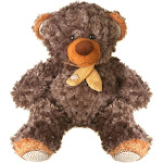 Giftable World A01003 13 in Plush Bear Gray Brown