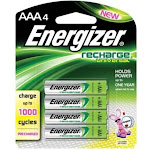 Energizer Recharge Universal Battery - AAA - NiMH
