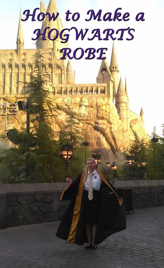 Harry Potter Hogwarts Robes: Best DIY Patterns & Tutorials