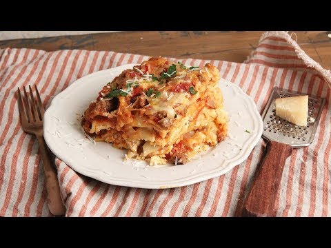 Slow cooker vegetable lasagne | Healthy Racipes