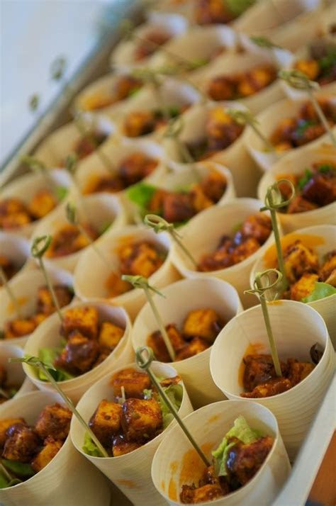 Tandoori paneer cups. No recipe. Just a great party idea