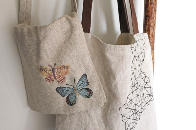 Butterflies field bag