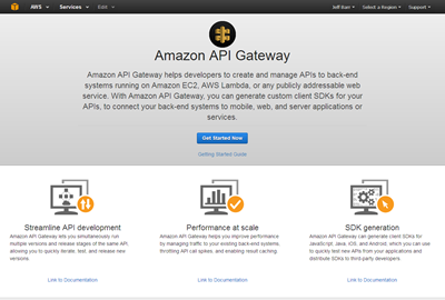 Amazon API Gateway – Build and Run Scalable Application Backends