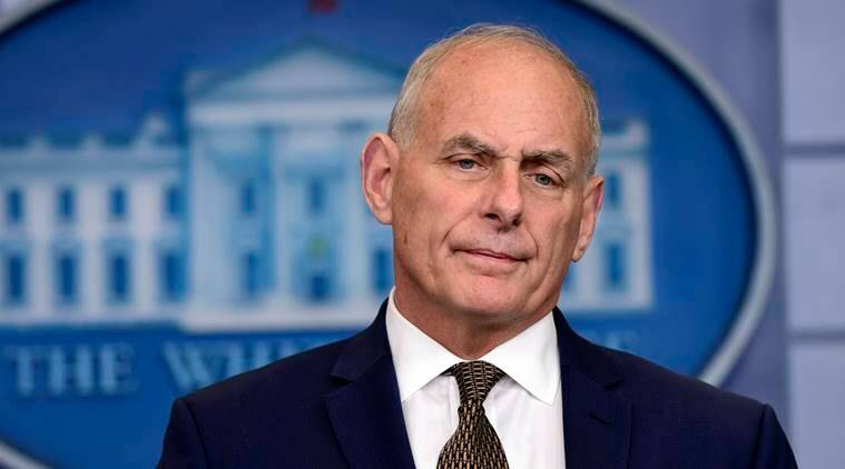 john kelly, white house, donald trump, us president, united states, world news, indian express