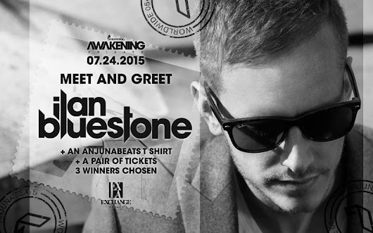 Win Meet & Greet w/ Ilan Bluestone