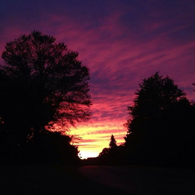 God's handiwork...#nofilter, #sunset