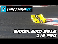 Brasileiro de 1/8 Pro: passagem dos carros na reta da AARCN