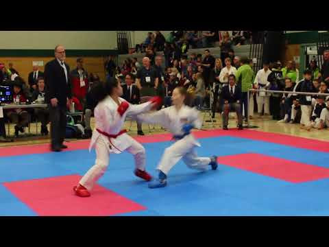 Karate finals highlights from BC Winter Games vlog 112