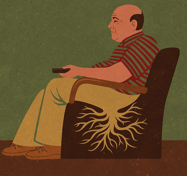 AD-Satirical-Illustrations-Show-Our-Addiction-To-Technology-09