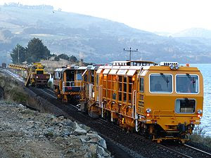 English: Kiwirail subsidiary Ontrack performin...