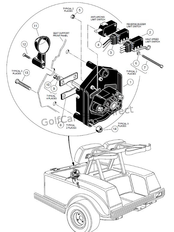 20 Best Ez Go Golf Cart Ignition Switch Diagram