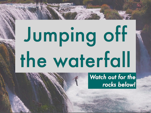 Jumping off the waterfall - an agile transition
