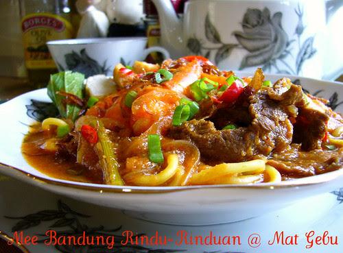 Mee Bandung Rindu-Rinduan