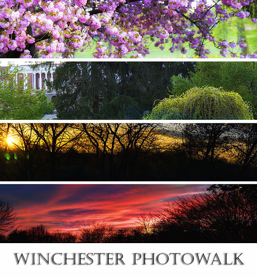 Photographing Beautiful City of Winchester