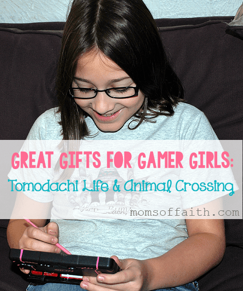 Great Gifts for Gamer Girls: Tomodachi Life & Animal Crossing