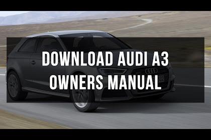 Audi A3 User Manual Pdf
