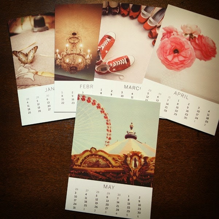 Sale  2009 Polaroid Calendar