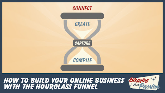 How to Build Your Online Business with the Hourglass Funnel | Blogging Your Passion