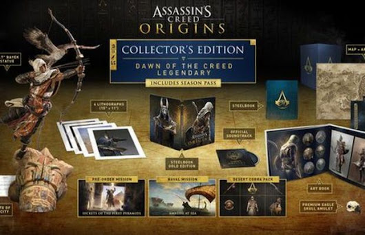 Check Out Insane $800 Assassin's Creed Origins Special Edition | FizX