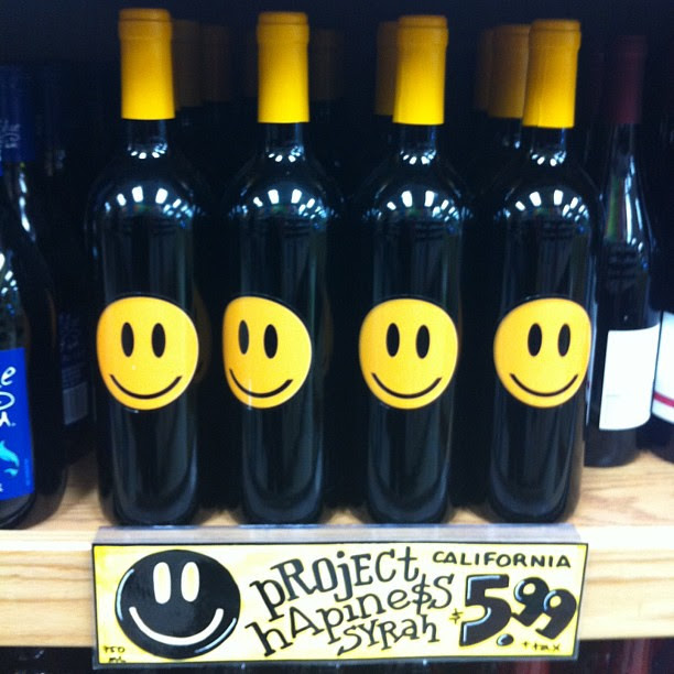 Happy wine.