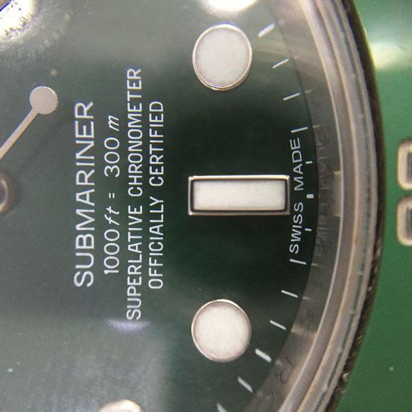 Genuine Submariner Dial