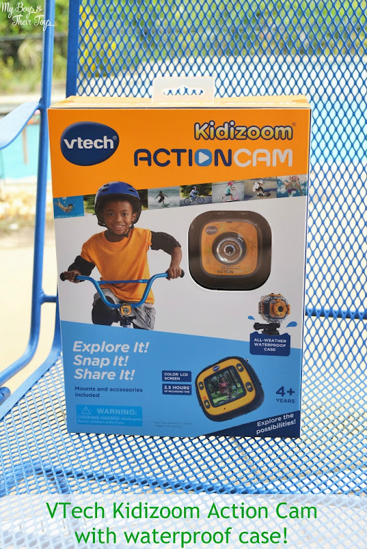 Inexpensive Action Cam for Kids - VTech® Kidizoom + Giveaway! - My Boys and Their Toys