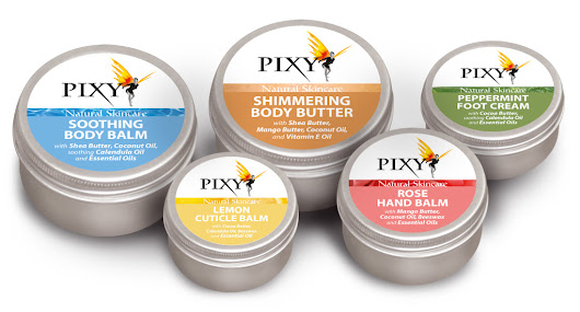 'Pixy Natural Skincare based in Mallow, Cork - Website Design, Logo and Product Branding | Sixmile Design'
