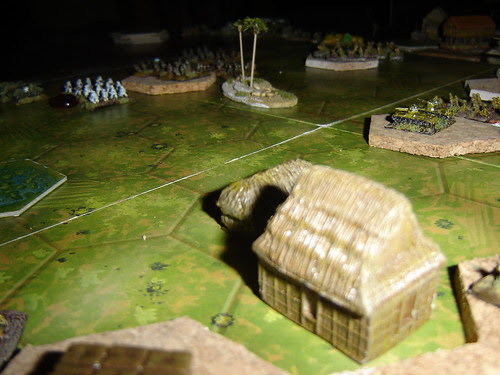 Japanese mobile artillery wait for dawn - Battle of Pacific RR