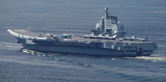All of the Reasons Why the World Should Fear China's Aircraft Carriers | The National Interest Blog